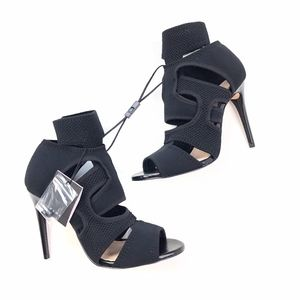 ZARA Woman | Black Wrap Around Sandal Heel